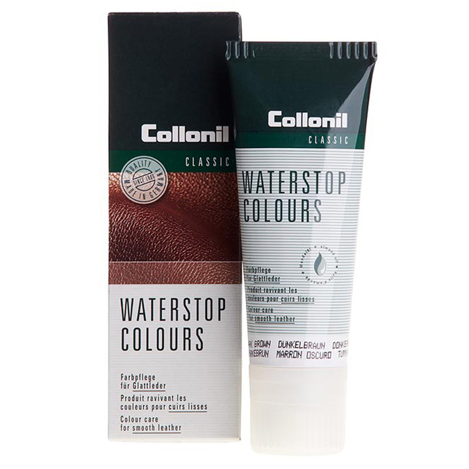 Waterstop-Creme in Tube mit Schmierswamm collonil, Braun, 902-6074 - 13