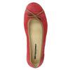 Legere Ballerinas aus Leder weinbrenner, Rot, 526-5503 - 19