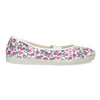 Kinder-Turnschuhe mit Muster, Weiss, Rosa, 379-5001 - 19