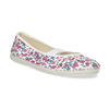 Kinder-Turnschuhe mit Muster, Weiss, Rosa, 379-5001 - 13
