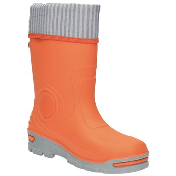 Orange Gummistiefel für Kinder mini-b, Orange, 292-8200 - 13
