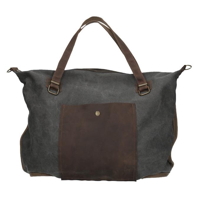 XXL-Tasche mit Gurt weinbrenner, Grau, 969-2620 - 26