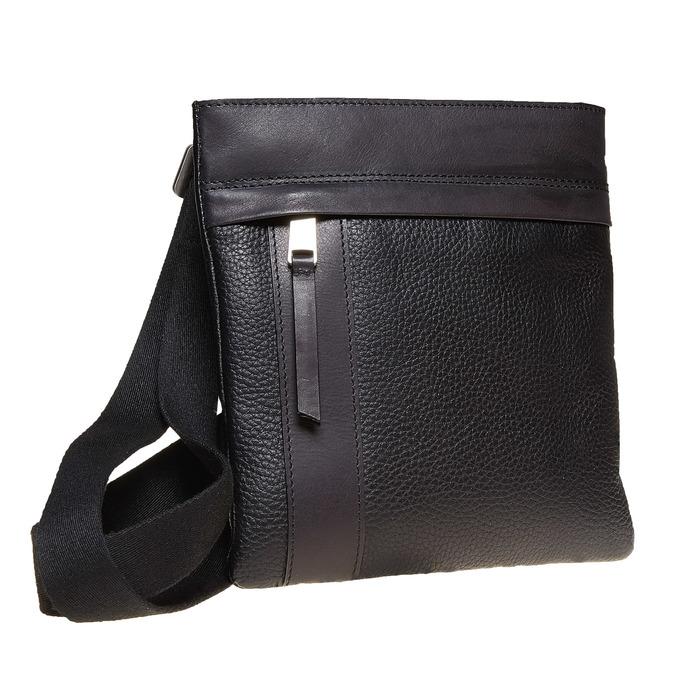 Crossbody-Tasche aus Leder bata, Schwarz, 964-6131 - 13