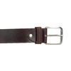 Brauner Gürtel aus Leder bata, Braun, 954-3106 - 26
