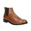 Damen-Chelsea-Boots aus Leder bata, Braun, 594-3902 - 13