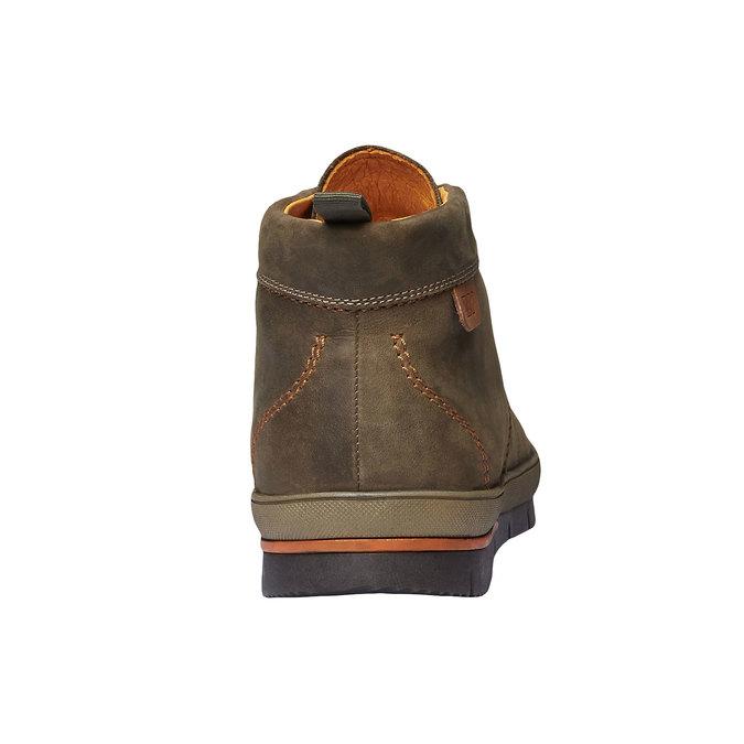 Leder-Sneakers weinbrenner, Braun, 894-2209 - 17