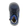 Kinderschuhe aus Leder mit wärmender Fütterung bubblegummer, Blau, 116-9102 - 19