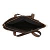 Damenhandtasche mit asymmetrischem Reissverschluss bata, Braun, 961-3847 - 15