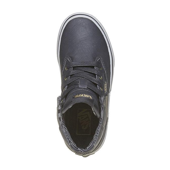 Knöchelhohe Kinder-Sneakers vans, Grau, 401-6310 - 19