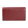Damen-Geldbörse aus Leder, Rot, 944-5357 - 19