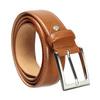 Brauner Herrengürtel aus Leder bata, Braun, 954-3153 - 13