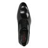 Schwarze Lederhalbschuhe im Oxford-Stil conhpol, Schwarz, 824-6887 - 19
