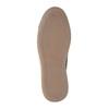Knöchelhohe Sneakers aus Leder mit Reißverschluss bata, Braun, 844-3632 - 26