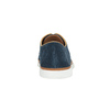Legere Lederhalbschuhe bata, Blau, 843-9623 - 17