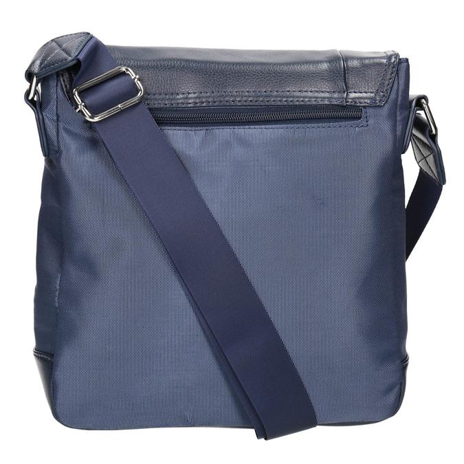 Herrentasche im Crossbody-Stil bata, Blau, 961-9508 - 19