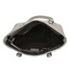 Damenhandtasche mit perforiertem Detail bata, Grau, 961-2711 - 15