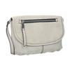 Crossbody-Handtasche mit perforierter Klappe bata, Beige, 961-2709 - 13
