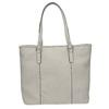 Damenhandtasche mit perforiertem Detail bata, Grau, 961-2711 - 19