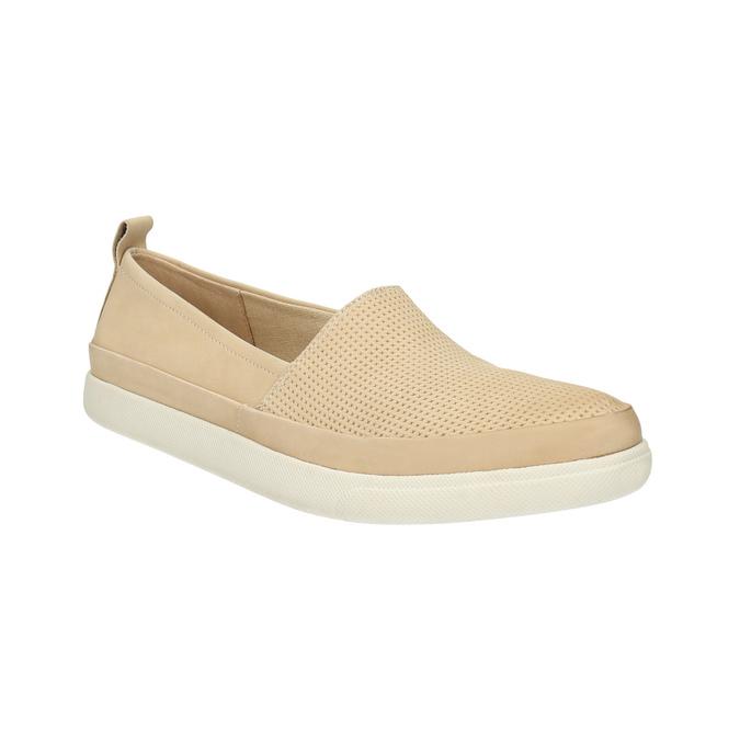 Leichte Damen-Slippers bata, Beige, 516-8601 - 13