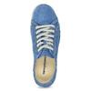 Legere Lederhalbschuhe weinbrenner, Blau, 546-9603 - 17
