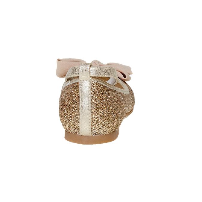 Mädchen-Ballerinas mit Schleife mini-b, Gold, 329-8241 - 17