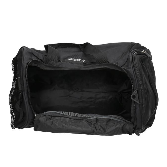 Schwarze Reisetasche, Schwarz, 969-6164 - 15