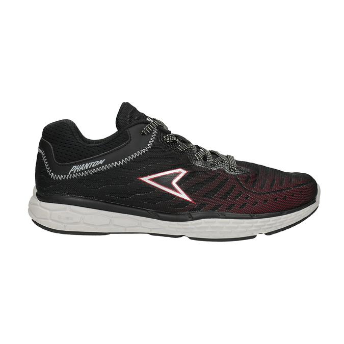 Herren-Sneakers mit Muster power, Schwarz, 809-6155 - 15