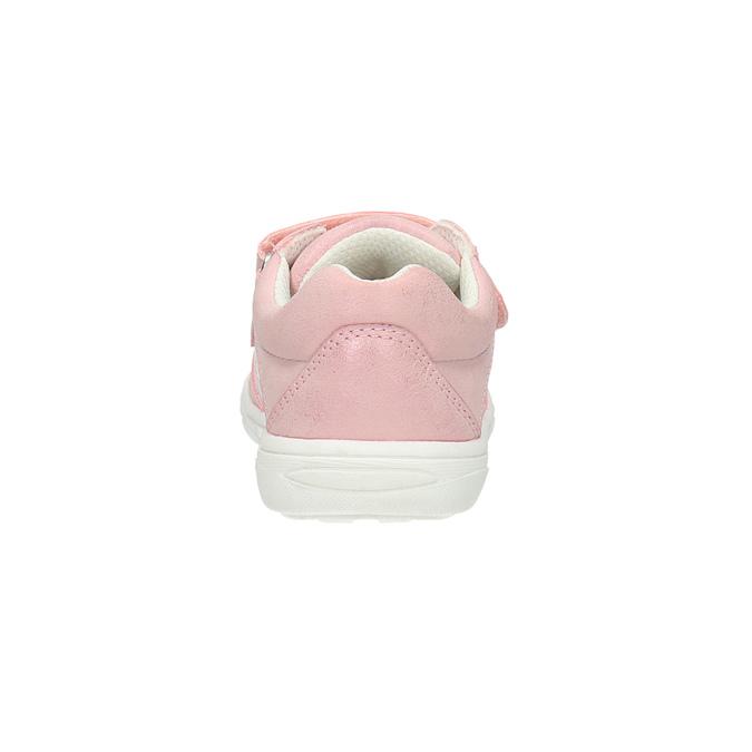 Kinder-Sneakers mit Blumenmotiv mini-b, Rosa, 221-5605 - 17