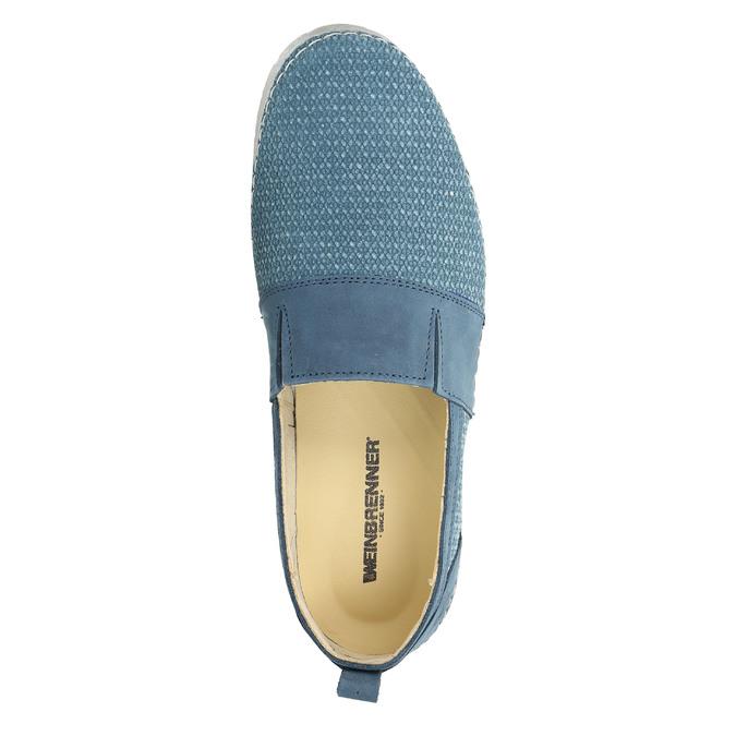 Blaue Slip-Ons weinbrenner, Blau, 513-9263 - 19