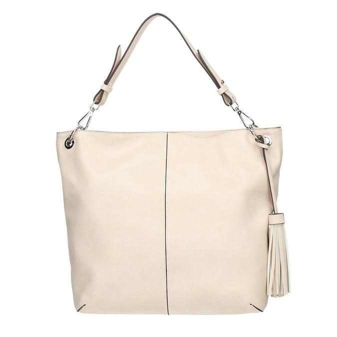 Handtasche mit Quasten bata, Beige, 961-8703 - 26