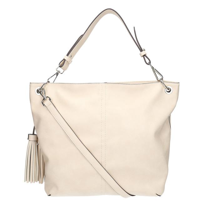 Handtasche mit Quasten bata, Beige, 961-8703 - 19