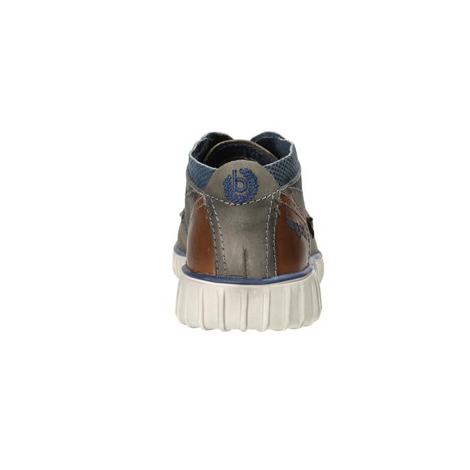 Knöchelschuhe aus Leder bugatti, Grau, 846-2635 - 17