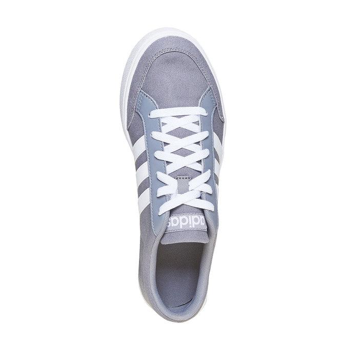 Graue Herren-Sneakers adidas, Grau, 889-2235 - 19