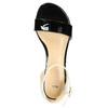 Sandalen aus Lackleder bata, Schwarz, 568-6606 - 19