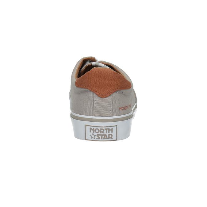 Legere Herren-Sneakers north-star, Braun, 889-2283 - 17