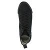 Schwarze, knöchelhohe Sneakers tomy-takkies, Schwarz, 589-6173 - 19