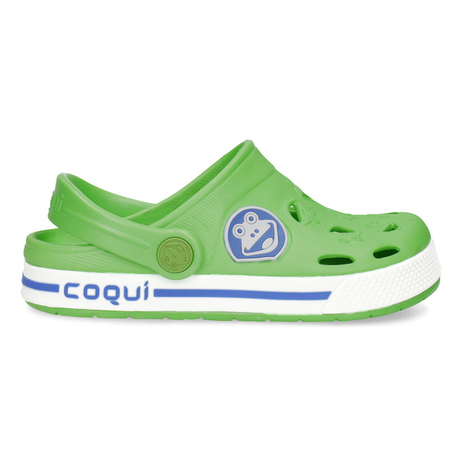 Grüne Kindersandalen coqui, Grűn, 272-7603 - 19