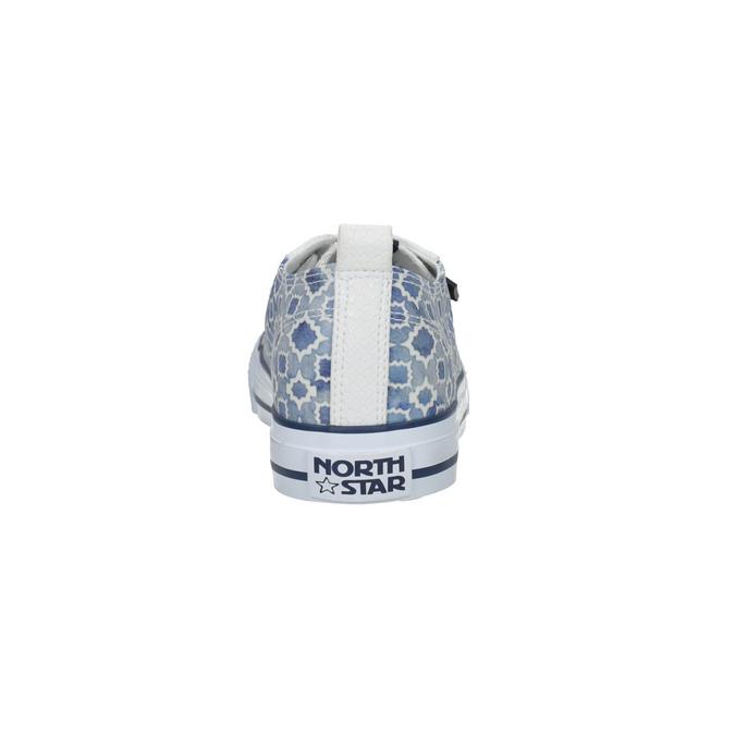 Damen-Sneakers mit Muster north-star, Blau, 589-1441 - 17