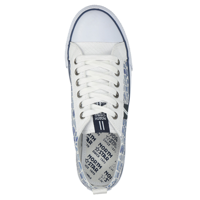 Damen-Sneakers mit Muster north-star, Blau, 589-1441 - 19