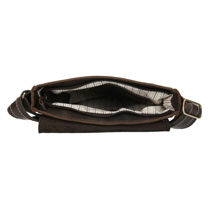 Herrentasche aus Leder bata, Braun, 964-4283 - 15