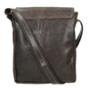 Herrentasche aus Leder bata, Braun, 964-4283 - 16