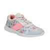 Sneakers mit Blumenmuster power, Grau, 509-2203 - 13