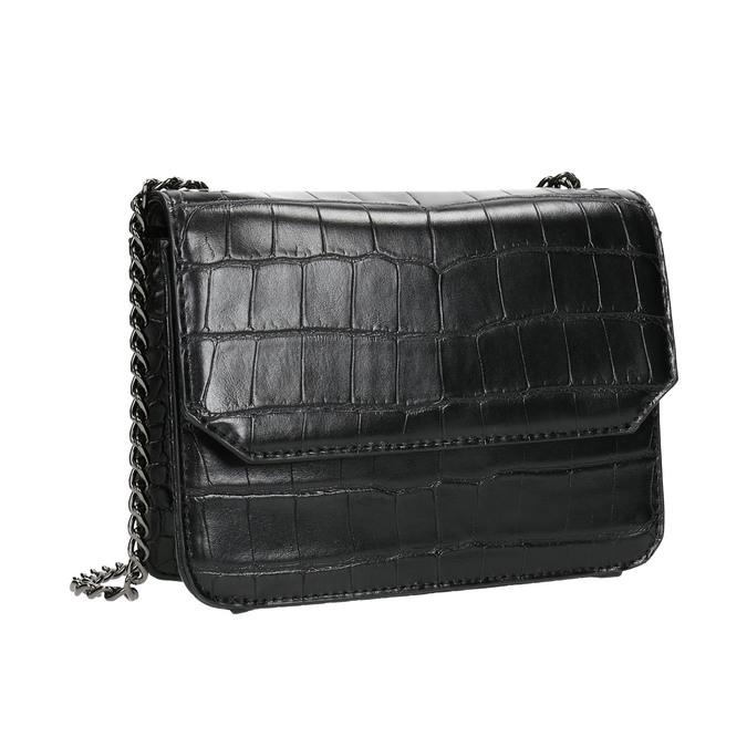 Damenhandtasche mit Kettchen bata, Schwarz, 961-6753 - 13