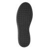 Schwarze Leder-Sneakers mit Klettverschlüssen bata, Schwarz, 526-6646 - 17