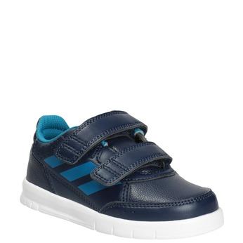Kinder-Sneakers mit Klettverschluss adidas, Blau, 101-9161 - 13