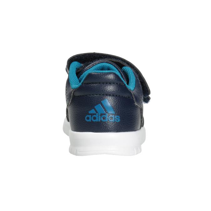 Kinder-Sneakers mit Klettverschluss adidas, Blau, 101-9161 - 16