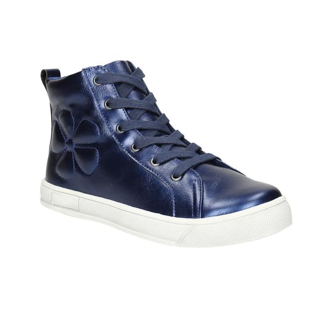 Blaue, knöchelhohe Kinder-Sneakers mini-b, Blau, 321-9610 - 13