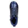 Blaue, knöchelhohe Kinder-Sneakers mini-b, Blau, 321-9610 - 26