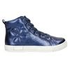 Blaue, knöchelhohe Kinder-Sneakers mini-b, Blau, 321-9610 - 15