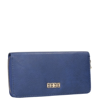 Blaue Damen-Geldbörse bata, Blau, 941-9180 - 13